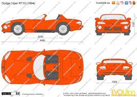 Dodge Viper 1995 - the blueprints com vector drawing dodge viper rt 10