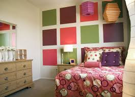 color blocks enhance teen bedroom design sassy and sophisticated