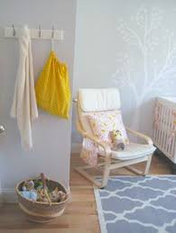 girls u0027 room nursery with blue walls painted in academy gray by