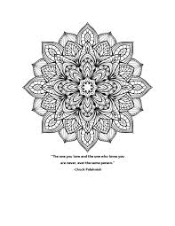 another mandala coloring pages