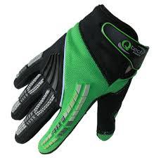 vintage motocross gloves motocross gloves by qtech trials enduro off road kawasaki green mx