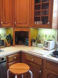 Do It Yourself Kitchen Cabinets Relocating Cabinets And Replacing Countertops Doityourself Com