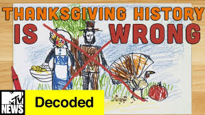 thanksgiving the real history ofc2a0thanksgiving story of