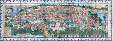 Mexico City Mexico Map by Arcnews Fall 2004 Issue The Talavera Tiles Bringing To Light