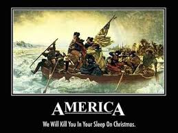 Revolutionary War Memes - independence week we will kill you in your sleep on christmas