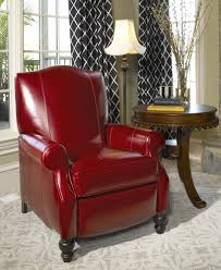 Perfect Reading Chair by Good Red Leather Recliner Chair For Stunning Barstools And Chairs