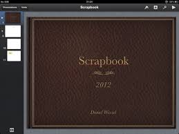 leather scrap book the best scrapbook app for you might already own keynote