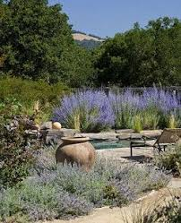Mediterranean Gardens Ideas Pottery In Mediterranean Garden Design Outdoor Spaces