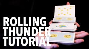 cardistry for beginners two handed cuts rolling thunder