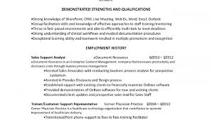 Facilitator Resume Resume Summary For Customer Service Resume Template And