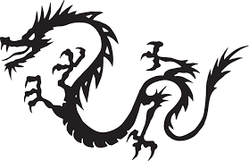 free vector graphic dragon black flying myth free image