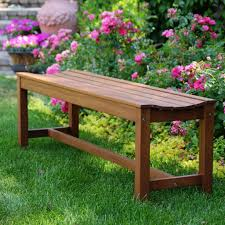eucalyptus backless patio bench v the home depot pics with