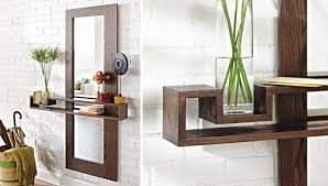 entry shelf make an entry mirror