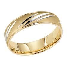 engraved wedding bands orange blossom men s 10kt yellow gold slashed engraved wedding band