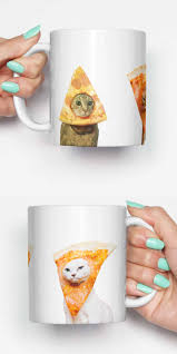 Unique Housewarming Gifts by Pizza Cats Funny Mug Gifts For Him Meme Mug Unique Mug