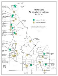 Ca Wildfire Map 2014 by Current Wildfire Smoke Info Idaho Department Of Environmental