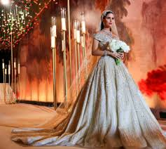 dana wolley the most lavish wedding dresses that have graced the internet this