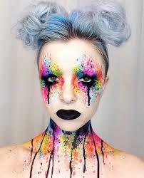 Extreme Halloween Costumes 10 Circus Makeup Ideas Harlequin Makeup