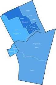 Boone Map Board Regions Daniel Boone Area District
