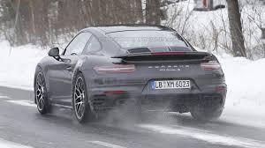 porsche 911 inside porsche 911 turbo s facelift spied inside and out motor1 com photos