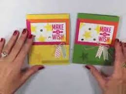 simply simple flash card two for one birthday cards youtube