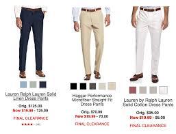 select ralph lauren u0026 haggar performance dress pants just 19 99