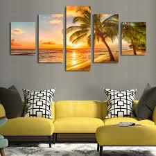 Define Sitting Room - aliexpress com buy sunrise coconut definition pictures canvas