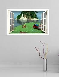 chambre minecraft papier peint mur minecraft chambre minecraft