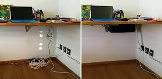how to cable manage a desk 20 excellent collection of desk cable management optimalizaltlinkek
