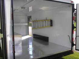 enclosed trailer interior light kit mobile vehicle unit enclosed cargo trailers ect 16