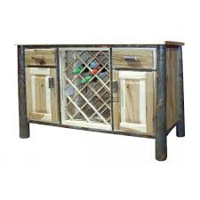 Distressed Wood Bar Cabinet Buy Petworth Solid Wood Bar Cabinet In Distressed Finish At