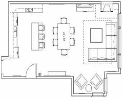 kitchen dining family room floor plans modern living room floor plans interior design