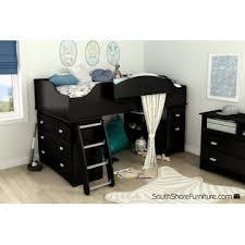 South Shore Bunk Bed South Shore Imagine 2 Drawer Storage Unit Black Oak