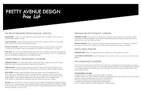 services u2014 pretty avenue design
