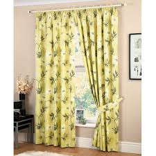 Jc Penneys Kitchen Curtains Decor Yellow Jc Penney Curtains With White Curtain Rods And White