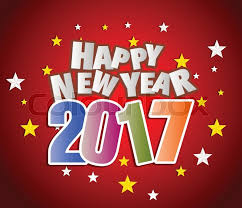 2017 happy new year greetings card stock vector colourbox