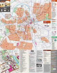Bike Map Portland by The Urban Bike Map Sans Spaghetti U2014 Informing Design Inc