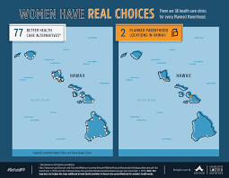 Hawaii State Map by Maps Health Clinics Nationwide Compared To Planned Parenthood