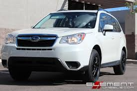 subaru forester 2016 17 inch drag dr 31 all matte black on 2016 subaru forester w