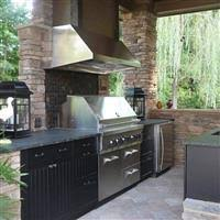 Outdoor Kitchen Cabinets Stainless Steel Polymer  Aluminum - Outdoor kitchen cabinets polymer