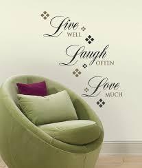 roommates rmk1396scs live love laugh peel u0026 stick wall decals