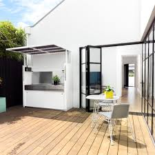 Kitchen Outdoor Ideas Northcote Residence I Tilt Outdoor Kitchen Bbq I Designed By Urban