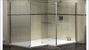 bathroom walk in shower dimensions corner burly prism shower