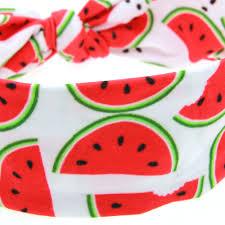 fruit headband kids summer style fruit headband diy cotton elastic hair band
