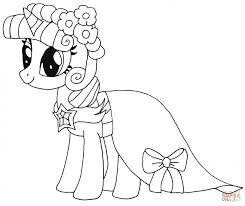 20 free printable pony friendship magic coloring