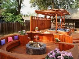 Outdoor Backyard Ideas by Best 25 Backyard Deck Designs Ideas On Pinterest Backyard Decks