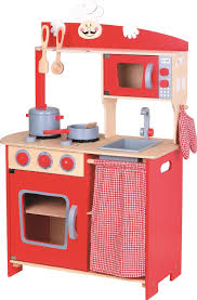 lelin wooden wood childrens kids pretend play saffron kitchen