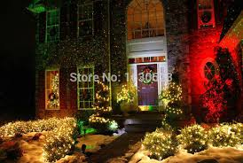 Green Outside Lights Red Green Firefly Moving Proyector Laser Led Navidar Remote