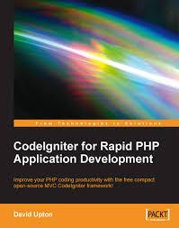 codeigniter rapid php application development packt books