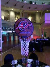 Basketball Centerpieces Gallery Basketball Themed Bar Mitzvah Party